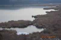 Езерото Сребърна замръзна